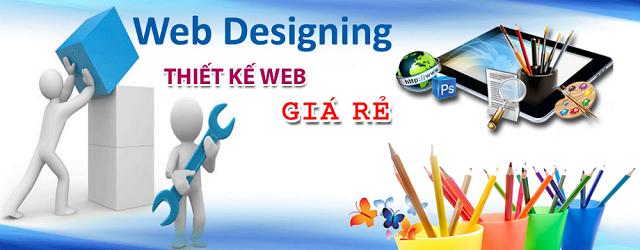 Thiết kế website giá rẻ tphcm