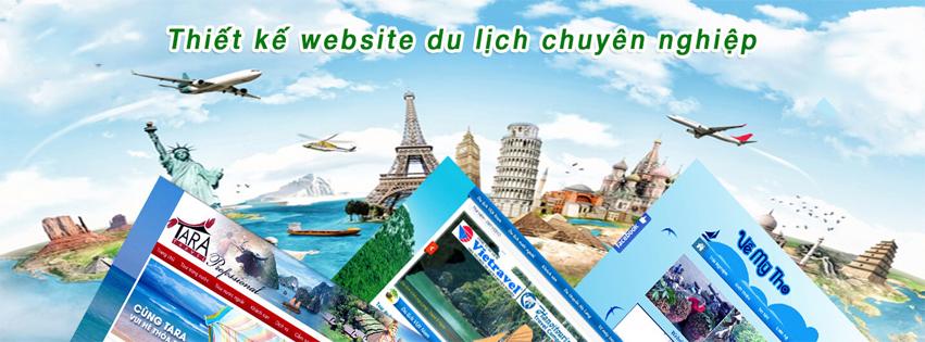 Thiết kế website du lịch khẳng định thương hiệu doanh nghiệp