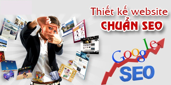 công ty thiết kế website chuẩn seo