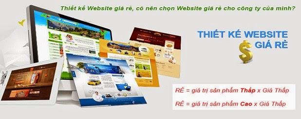 công ty thiết kế website giá tốt
