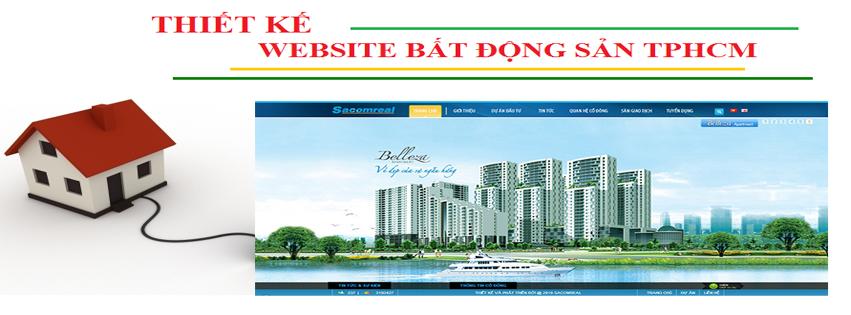 Thiết kế website bất động sản chất lượng nhất