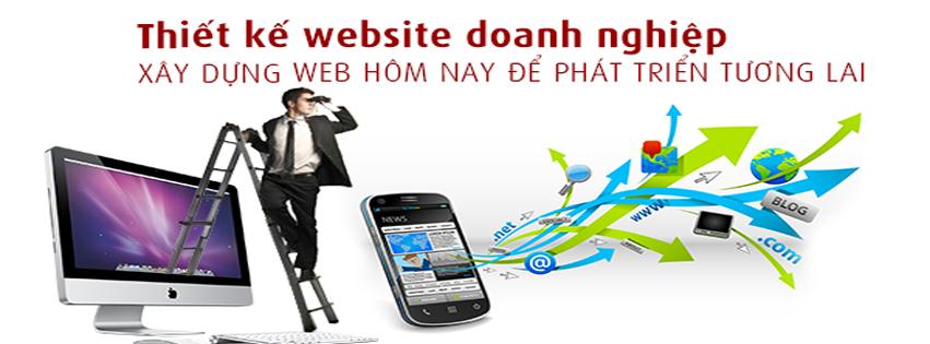 Thiết kế website doanh nghiệp chất lượng nhất tại TPHCM