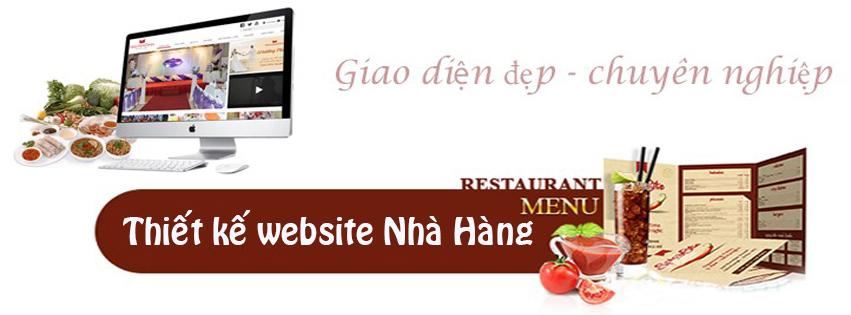 Thiết kế website nhà hàng tiết kiệm nhất