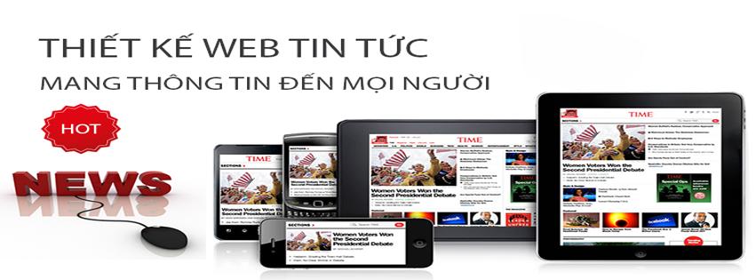 Thiết kế website tin tức nhanh chóng và hiệu quả