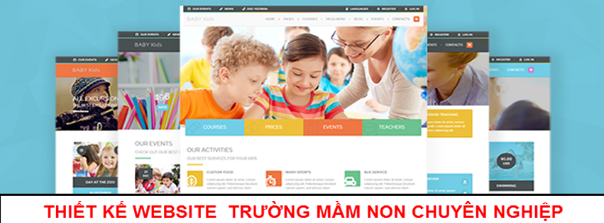 Thiết kế website mầm non