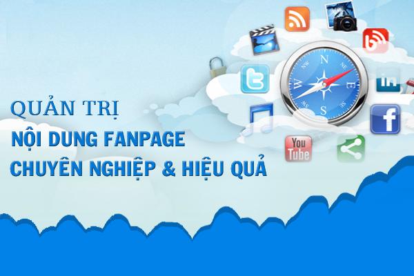 Dịch vụ quản trị fanpage facebook cho doanh nghiệp,công ty